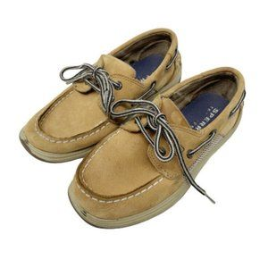 Sperry Slip On Boat Shoes Boys Size 13.5
